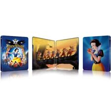 Snow White And The Seven Dwarves Blu-ray Steelbook UK Region free