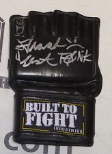 Frank Lester Signed MMA Glove PSA/DNA COA Autograph UFC The Ultimate Fighter TUF
