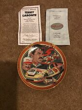 Terry Labonte Hamilton Collection Drivers Victory Lane Nascar collector plate