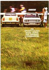 Fiat 128 Sport Coupe 1972-75 UK Market Sales Brochure SL 1300 1100