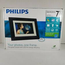 Philips Home Essentials 7 inch LCD Digital Photo Frame Black