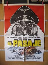 A635 EL PASAJE. ANTHONY QUINN, JAMES MASON, MALCOLM McDOWELL.
