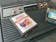 Original Atari CX2600A4 Switch Black Console VTG with two games E.T. & PINBALL