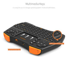 i8 2.4GHz Wireless Keyboard Funk Mini Tastatur Air Mouse Touchpad für TV PC DE