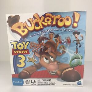 Toy Story 3 Buckaroo Game Bullseye Horse Disney Pixar Hasbro 2010 Preschool NEW