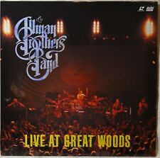 Laser Disc Allman Brothers Band Live at Great Woods Rare Concert Memorabilia