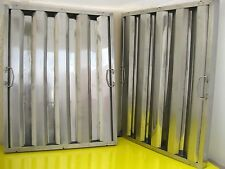 """1 pc Restaurant Hood Filter, 25""""H x 20""""W, Stainless Steel Grease Baffle"""