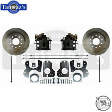 78-88 A/G Body & S10 REAR Disc Brake Kit with Stock Style Rotors TRS
