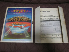 Boston Don't Look Back Japan Rock Band Score Song Sheets Set in Outer Tom Scholz