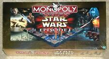 Star Wars ~ Episode I ~ Monopoly ~ Collector'S Edition ~ 3-D Gameboard ~ New