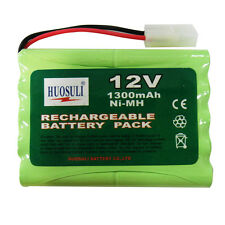 1 pcs 12V 1300mah Ni-Mh rechargeable battery pack RC Tamiya