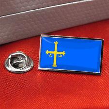 Asturias Flag Lapel Pin Badge/Tie Pin