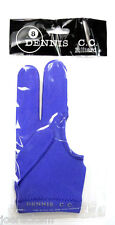 Royal Blue Dennis C.C. Billiard Pool Glove - One Size Fits All