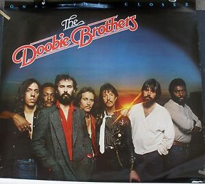 THE DOOBIE BROTHERS ONE STEP CLOSER 1980 VINTAGE MUSIC RECORD STORE PROMO POSTER