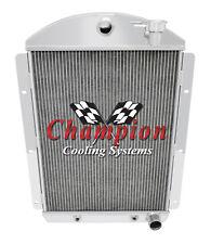 """1941 - 1946 Chevrolet Truck V8 Small Block Engine 2 Row 1"""" Tubes SR Radiator"""