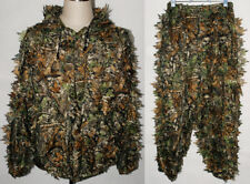 REALTREE CAMO HUNTING LEAF NET GHILLIE SUIT JACKET AND TROUSERS -32249