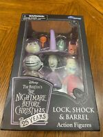 Disney Tim Burton's The Nightmare Before Christmas 25 Years Lock, Shock & Barrel
