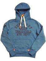 Superdry Herren Kapuzensweatshirt Gr. M blau Sweatshirt Hoodie