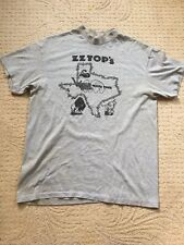 Vintage Zz Top's World Wide Texas Tour T-Shirt Size Xl 46-48 Single Stitch