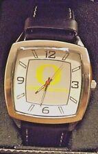 New w/Case Oregon Ducks Mens Game Time Retro Watch