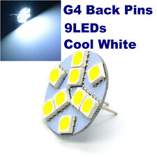 4x G4 LED Bulb Halogen Replacement 9LEDs Back Pins Cool White for home spotlight