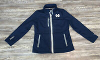 Womens Utah State Aggies Full Zip Soft Shell Jacket Size M G3 By Carl Banks