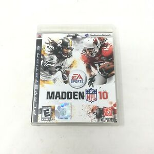 Madden NFL 10 PLAYSTATION 3 PS3 Football Video Game By EA Sports