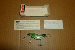 HEDDON 7735 GAR COUSIN II 1/2 OZ. CLASS FISHING LURE IN BOX WITH PAPERWORK NICE
