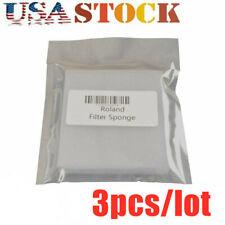 3pcs Roland Sj-540 / Sp-540V Filter(m) Serge Mist 3 Cleaning Sponge 1000000415