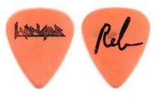 Winger Reb Beech Signature Orange Guitar Pick #2 - 1990 Tour