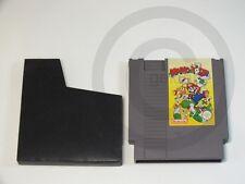 !!! NINTENDO NES SPIEL Mario & Yoshi, gebraucht aber GUT !!!