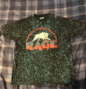 adult charlotte rage arena football shirt size L