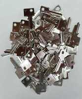 100 Stück BUR21 Silca Rohling Schlüsselrohling Kleinzylinder für Burg/Wächter