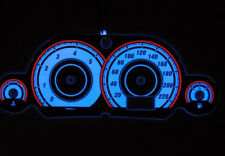 Ford Focus MK1 glow gauges dials plasma dials kit tacho glow dash shift style 2