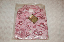 Pyjama vintage Garçon 8 ans rose et violet polyester et coton