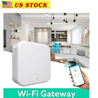 WiFi Wireless Gateway Remotely Control Bluetooth Smart Door Lock USB Alexa Voice