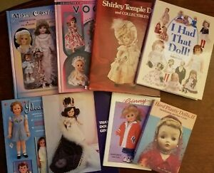 Lot of Doll Books including Vogue, Ginny,  Ideal, Shirley Temple