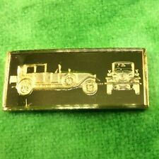 Franklin Mint Silver Ingot World Great Performance Car 1925 RANAULT 45 Edwardian