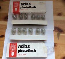 Vintage Atlas Photoflash M3 Clear Bulbs