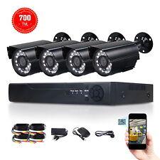 Waterproof 4CH H.264 Security CCTV DVR+4Pcs Outdoor IR Suveillance Camera System