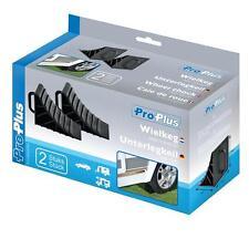 Unterlegkeil Kunststoff mit Griff Set 2 Stück Quad ATV Wohnwagen Keil Stopper