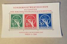 Berlin Block 1 Währungsgeschädigten ** postfrisch