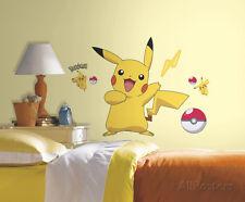 Pokemon Pikachu Peel and Stick Wall Decals Sticker - 18x40
