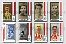 BRENTFORD - CIGARETTE CARD HISTORY 1900-1939 - Collectable postcard set # 1