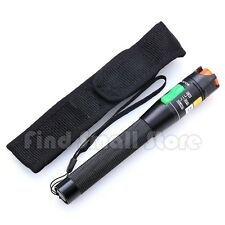 US VFL 30mW 30KM Visual Fault Locator Fiber Optic Cable Tester Optical Laser