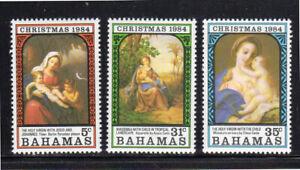 BAHAMAS #569-571  1984  CHRISTMAS     MINT  VF NH  O.G