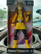 "Saban's Power Rangers YELLOW RANGER 9"" Action Figure! (2018, Hasbro)"