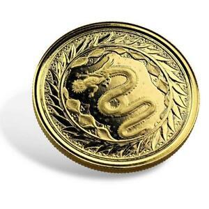 2020 1oz .9999 Gold Coin - Serpent of Milan BU 1oz Gold Coin #A503