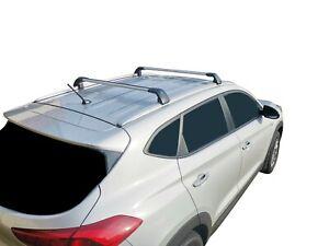 Alloy Roof Rack Cross Bar for Hyundai Tucson TL 2015-20 With Flush Rails