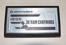 3K RAM CARTRIDGE - COMMODORE VIC 20